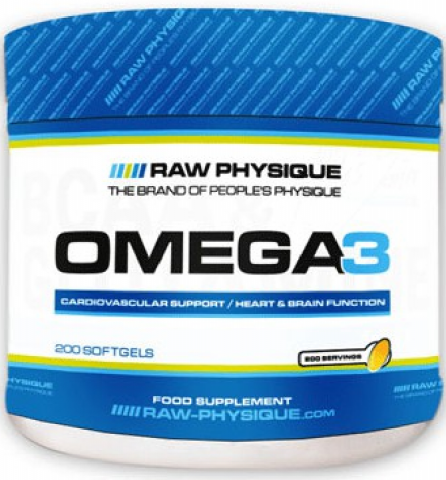RAW OMEGA 3  200 SOFTGELS