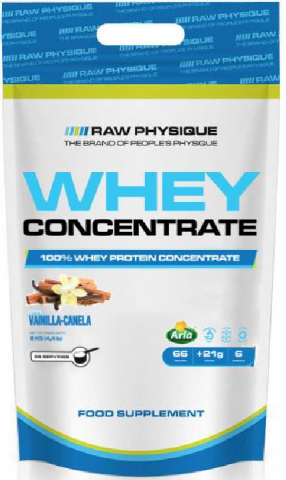 RAW WHEY CONCENTRATE 2 KGS