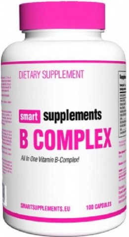 SMART SUPPLEMENTS B COMPLEX 100 CAPS