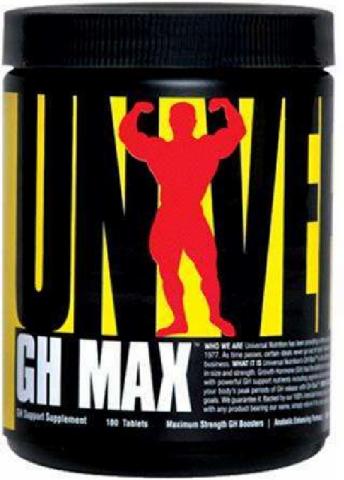 UNIVERSAL GH MAX 180 CAPS