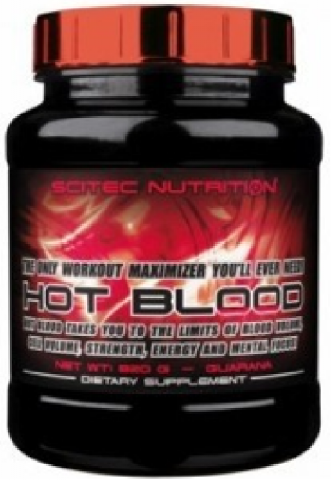 SCITEC HOT BLOOD 820 GRAMOS
