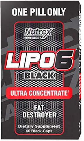 NUTREX LIPO 6 BLACK ULTRA CONCENTRADO 60 CAPS