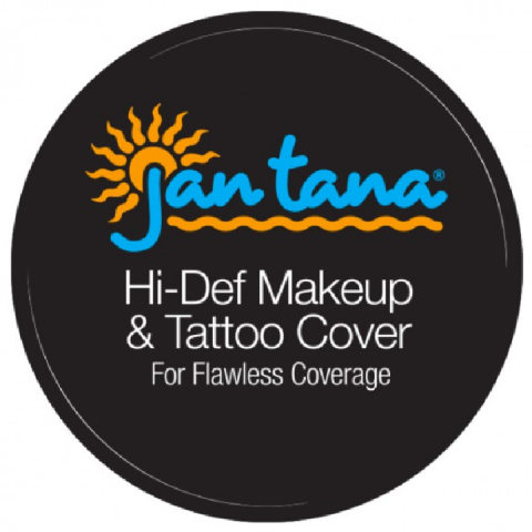 JAN TANA TATTOO COVER CREAM MAKEUP