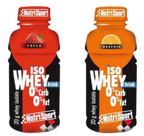 NUTRISPORT ISO WHEY DRINK