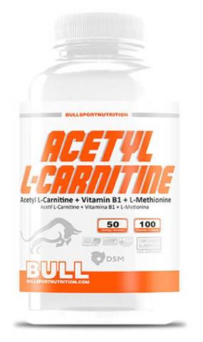 BULL ACETYL L-CARNITINE 100 CAPSULAS