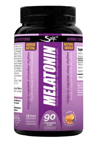 SCULPT MELATONIN 90 TABS MASTICABLE