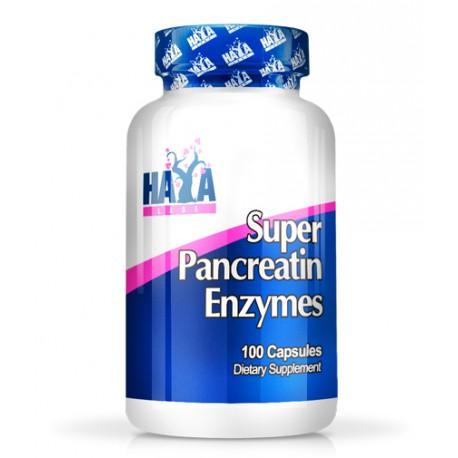 HAYA LAB SUPER PANCREATIN ENZYMES 100 CAPS