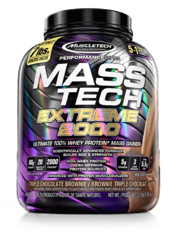 MUSCLETECH MASS TECH EXTREME 2000 - 3.2 KGS CHOCO