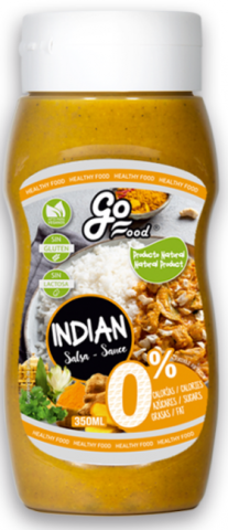 GO FOOD SALSA INDIAN 330ml