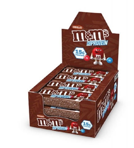 M&M'S PROTEIN CHOCOLATE BAR 51gr
