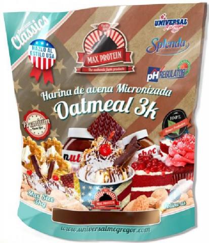 MAX PROTEIN AVENA 3 KGS CHOCO CREAM COOKIES