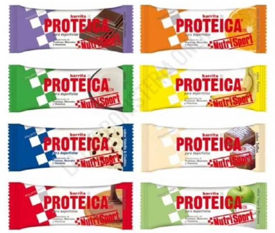 NUTRISPORT BARRITA PROTEICA RED BERRIES