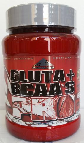 POWERPRO BCAA + GLUTAMINA 500 GRAMOS COLA